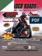 Thunder Roads Virginia Magazine - March '07