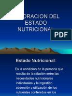 Valoracion Del Estado Nutricional 2008