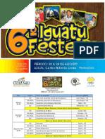 Programação completa do VI Iguatu festeiro
