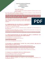 Resoluções Exames CTOC - 2005-10-15 - Analítica
