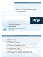 2010 SWANA Day Top Ten Myths of Behaviour Change