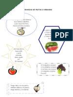 Adivinanzas de Frutas o Verduras