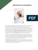 Domina Tu Orgasmo / Guía sobre el tratamiento para la eyaculacion precoz