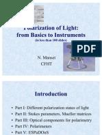 Polarization Light Intro