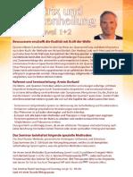 Einladung Matrix Transformation 1+2 Seminarbeschreibung  in Trier