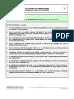 rio de Deteccion de Necesidades de Capacitacion F2