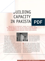 Building Capacity in Pakistan