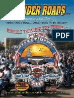 Thunder Roads Virginia Magazine - October '06