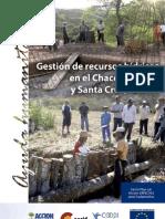 Gestión de recursos hídricos en el Chaco de Bolivia