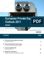 Roland Berger European Private Equity Outlook April 2011