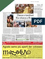PANDEIROMANI @ Romina Ciuffa > Il Messaggero