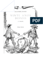 7131429 Alexandre Dumas Vinte Anos Depois Volume 3