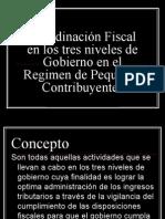 Coordinación Fiscal en los tres niveles de Gobierno expo usn