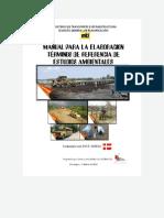 Manual Para Elaborar Tdr Estudio Ambiental