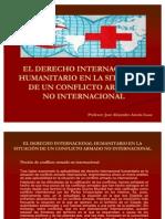 JOSE ALEJANDRO ARZOLA ISAAC, EL DERECHO INTERNACIONAL HUMANITARIO EN LA SITUACIÓN DE UN CONFLICTO ARMADO