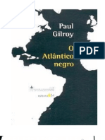 Paul Gilroy - O Atlântico Negro [LIVRO]