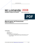 Mr.Comanda Manual Gestor de Promociones