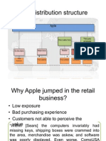 Apple's distribution structure