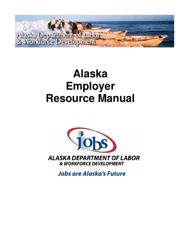 Alaska employment handbook fair labor standards act employment falaconquin