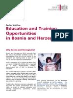 Education Opportunities in BIH