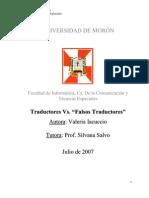 Traductores vs Falsos Traductores