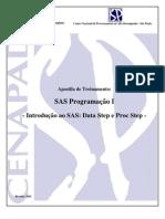 SAS Apostila Unicamp - CENAPAD