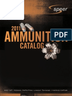 Speer Ammo Catalog 2011