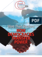How Democracies Transfer Power