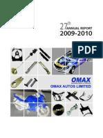 Omax Annual Reprt