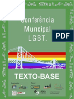 Texto-Base da I Conferência LGBTTT de Florianópolis (23/08 na Câmara de Vereadores)