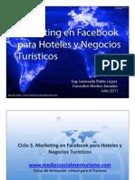 ¿Por qué marketing en facebook? - Marketing para Hoteles y Negocios Turísticos - Parte 1 de 7
