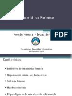 a Forense - Hernan Herrera