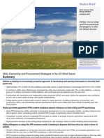 Wind Utility Ownership and Procurement Strategies in the US Wind Sector 8220101
