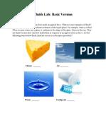Fluids Lab - Basic Version