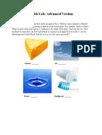 Fluids Lab - Advanced Version