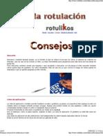 Consejos y trucos de la rotulación en vinilo