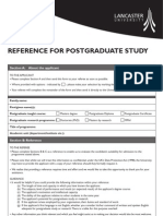 Reference Forms
