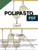 diapositiva polipasto