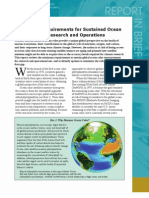 Assessing Requirements for Sustained Ocean Color Research and Operations