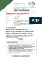 Taller Pruebas Psicometricas y Proyectivas 2011 V2
