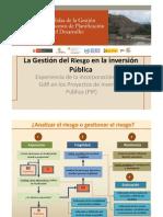 GRD y AdR en PIP Nancy Zapata