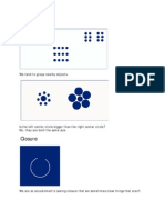 Designing Perceptual Organization