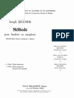 Sellner - Oboe Method
