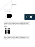 Six Laws of Designing With Perceptual Organization
