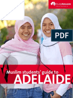 Muslim students'guide to Adelaide, by www.studyadelaide.com