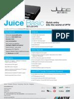 a4 Juice Basic Datasheet