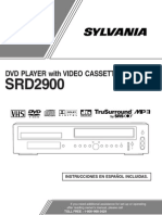 Sylvania DVDVCR Owners Manual