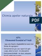 Chimia Apelor