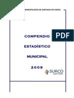 Compendio Estadistico 2009 - Municipal Id Ad de Santiago de Surco