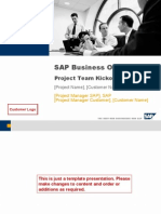 ASAP Business One - Project Kickoff Presentation